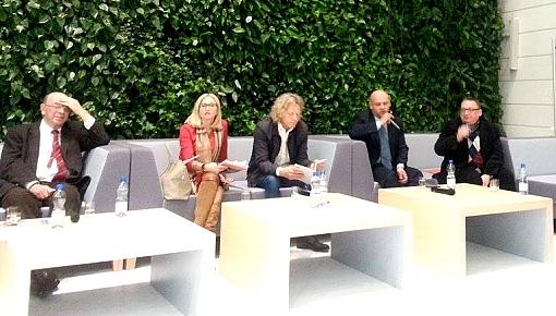 Część uczestników debaty o kulturze