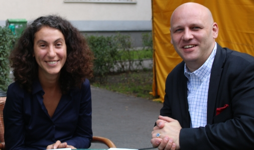 Draginja Nadażdin i Piotr Waglowski