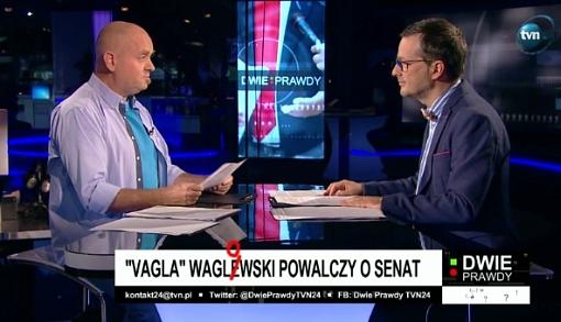 Kurkiewicz i Wróbel w programie Dwie prawdy