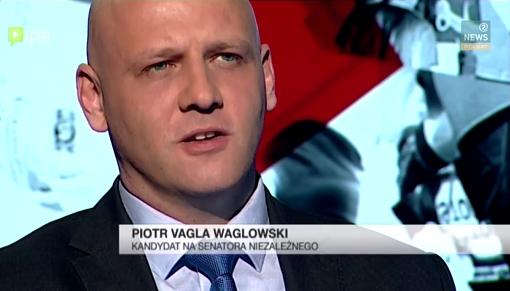 Piotr Waglowski w programie Prawy do Lewego