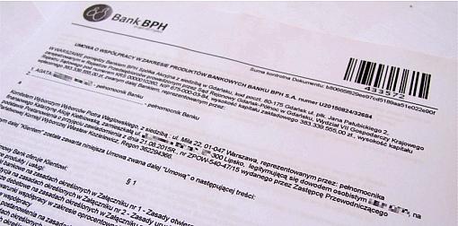 Umowa z bankiem o prowadzenie rachunku