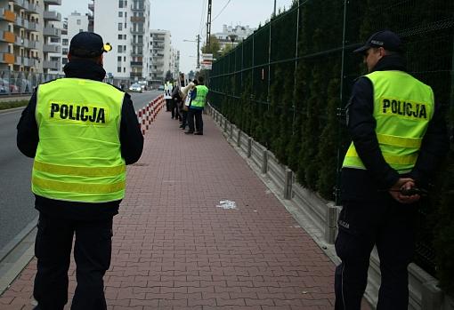 Dwaj policjanci