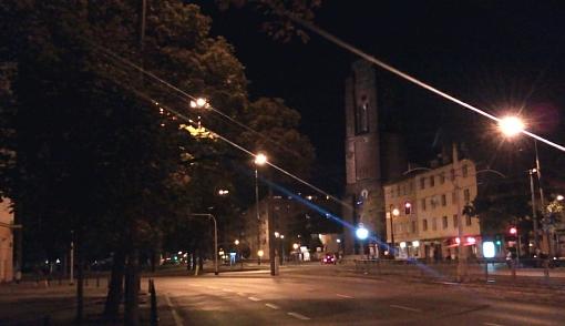 Plac Narutowicza nocą