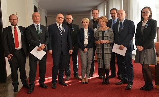 Członkowie Obywatelskiego Forum Legislacji odznaczeni honorową odznaką