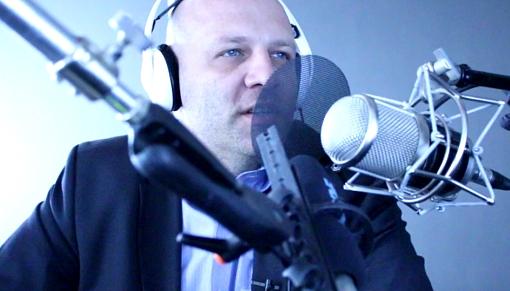 Piotr Waglowski w studio