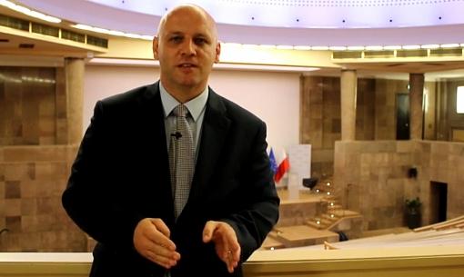 Piotr Waglowski - sala pod kopułą w Ministerstwie Gospodarki