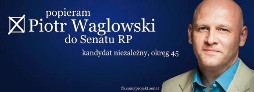 Popieram Piotra Waglowskiego w wyborach do Senatu RP