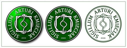 Sigillum Arturi Kmieciak- pieczęć Artura Kmieciaka