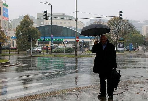Piotr Waglowski przy hali Kopińskiej