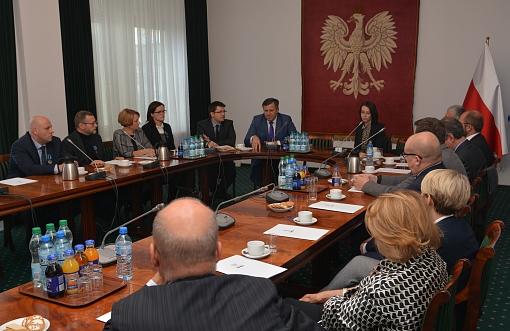 Spotkanie w Ministerstwie Gospodarski