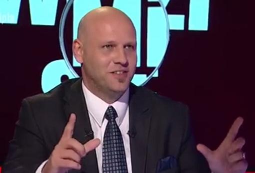 Piotr Waglowski w Polsat news 2