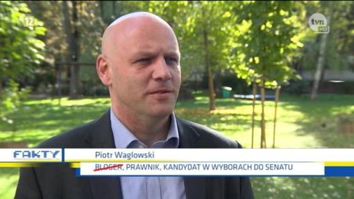 Piotr Waglowski w Faktach TVN
