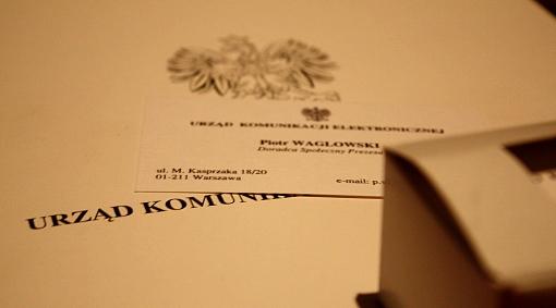 wizytówki doradcy prezesa UKE